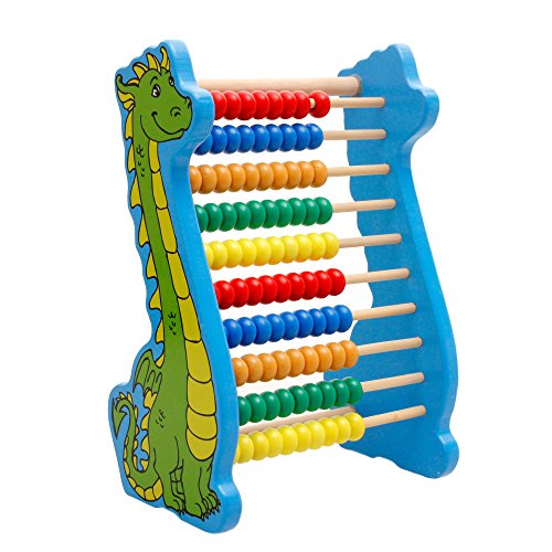 Lewo Wooden Abacus Counting Beads Toys Counting Abacus