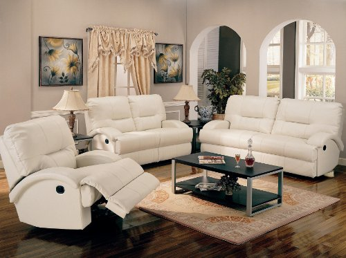 Picture of AtHomeMart 2PC Contemporary Motion Sofa and Loveseat Set (COAS600511_600512_2PC) (Sofas & Loveseats)
