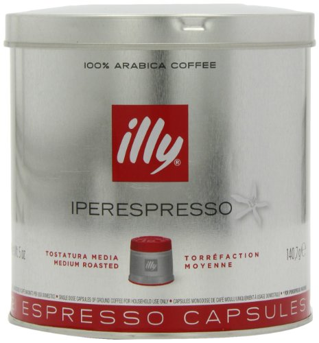 illy Classic Roast Iperespresso Coffee 21 Capsules (Pack of 2, Total 42 Capsules)