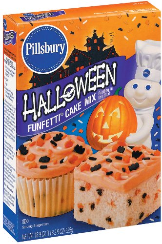 Pillsbury Funfetti Halloween Cake Mix, 19.0300-Ounce (Pack of 6)