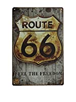 LO+DEMODA Panel Decorativo Route 66 Freedom