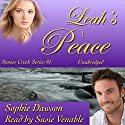 Leah's Peace: Stones Creek, Book 1 (       UNABRIDGED) by Sophie Dawson Narrated by Suzie Venable