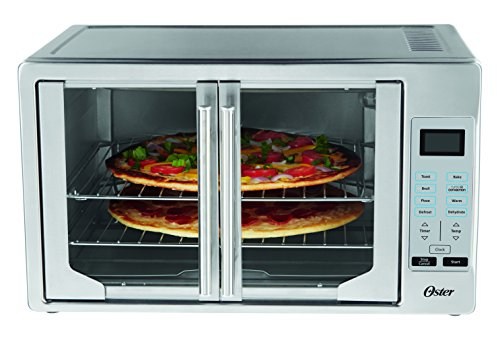 Oster TSSTTVFDDG Digital French Door Oven, Stainless Steel (Small Pizza Oven compare prices)