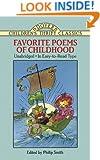 Favorite Poems of Childhood (Dover Children's Thrift Classics)