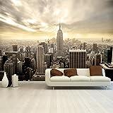 Fototapete Shining Manhattan 366x254 cm Tapete Skyline USA New York
