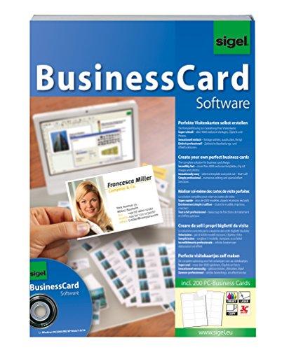 Sigel sw670 businesscard software gestaltungs software - Visitenkarten drucken gratis ...