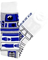 Star Wars R2-D2 (R2D2) Junior/Women's Knee High Socks Size 4-10 White