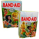 Disney's Fairies Children's Band-Aid Brand Adhesive Bandages from Johnson & Johnson - Assorted Sizes