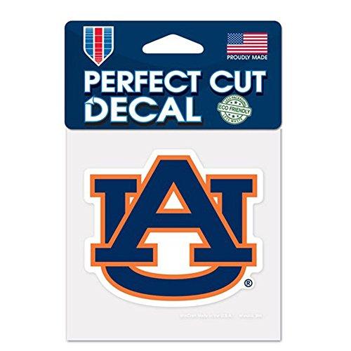 Auburn Tigers 10 x 10 cm, con scritta Home & Auto adesiva, American College)