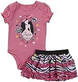 Disney Baby Girls' Princess Creeper/Skirt Set (Baby) - Pink
