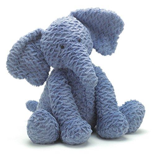 """Jellycat® Fuddlewuddle Elephant, Large - 12"""" front-808671"""
