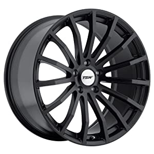 20×8.5 TSW Mallory (Matte Black) Wheels/Rims 5×114.3 (2085MAL205114B76)