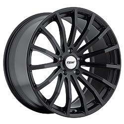 20×8.5 TSW Mallory (Matte Black) Wheels/Rims 5×114.3 (2085MAL405114B76)