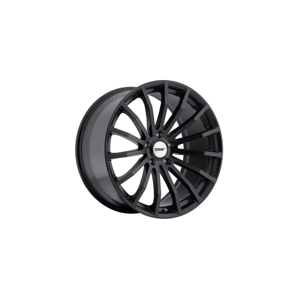 19x8 TSW Mallory (Matte Black) Wheels/Rims 5x114.3 (1980MAL405114B76
