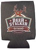 Deer Stalker Outdoors - Magnetic Neoprene Koozie / Can Holder / Beverage Cooler - Olive Drab (1)