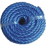 Polyreeb Seil Tampen 10mm 20 m Blau Leine Tau
