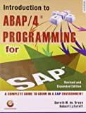 img - for Introduction To Abap/4 Programming In Sap book / textbook / text book