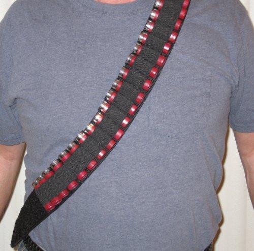 [Shotgun Shell Bandoleer Bandolier Belt with Breakaway Holds 50 Shot Gun Shells] (Bandolier Belt)