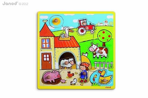 Imagen 1 de Janod J05512- Puzzle infantil de madera