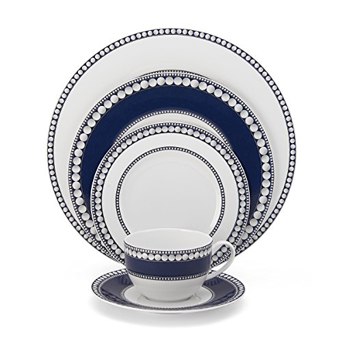 Mikasa Akoya Cobalt 5-Piece Place Setting Dinnerware Set, Service for 1 (Mikasa Platinum Crown Cobalt compare prices)