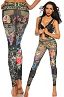 Leggings Print Jungle bunt 12342