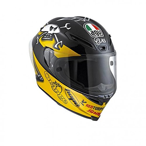 AGV-J6101A1FW001-Casco-Corsa-E2205-Replica-W-Multicolore-Guy-Martin