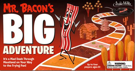 Mr. Bacon?s Big Adventure Board Game