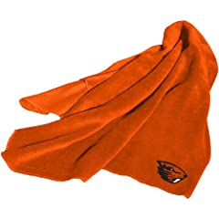 Brand New Oregon State Beavers NCAA Fleece Throw Blanket by Things for You