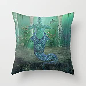 Popular Throw Pillow/Travel Pillow-Cotton Linen Square Decorative Throw Pillow Case Cushion ...