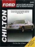 img - for Lincoln Coupes and Sedans, 1988-00 (Chilton's Total Car Care Repair Manual) book / textbook / text book
