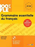 img - for 100% FLE Grammaire essentielle du francais A1/A2 2015 - livre cd + 675 Exercices (French Edition) book / textbook / text book