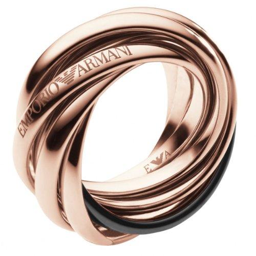 Emporio Armani Damen-Ring Edelstahl Gr.53 (16.9) EGS1764221-6.5