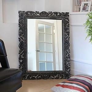 Miroir Mayana noir 100x75 Tikamoon 51ddsbntzTL._SL500_AA300_