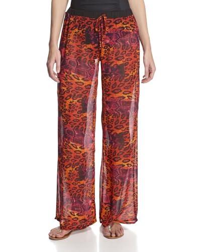 Heather Blond Women's Georgette Beach Pants