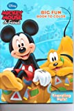 Mickey Mouse & Friends Big Fun Book to Color ~ Traveling Pals
