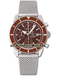 Cheap Price Breitling Superocean Heritage Chronograph Mens Watch A1332033-Q553SS