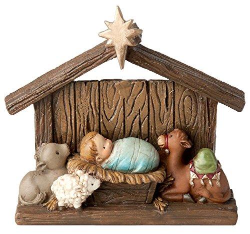 Boston International Adorable Nativity Home Decor Holy