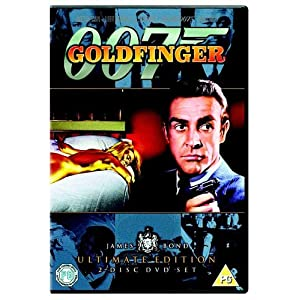 James Bond - Goldfinger (Ultimate Edition 2 Disc Set)  [DVD] [1964]