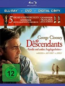 The Descendants - Familie und andere Angelegenheiten (+ DVD + Digital Copy) [Blu-ray]