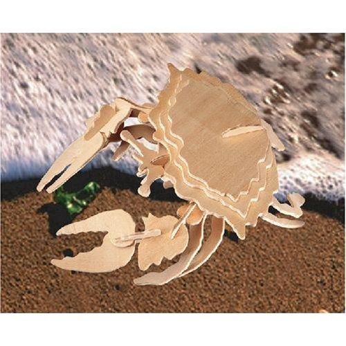 Shore Crab 3D Woodcraft Construction Kit - Buy Shore Crab 3D Woodcraft Construction Kit - Purchase Shore Crab 3D Woodcraft Construction Kit (Puzzled by Creative Ventures, Toys & Games,Categories,Construction Blocks & Models,Construction & Models,Animals & Insects)