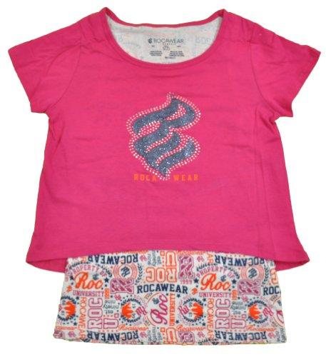 Rocawear Classic Big Girls Berry Jewelry Tank & Crop Top Shirt (16)