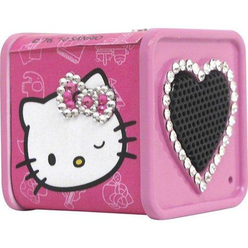 Hello Kitty 12709-HK Rhinestone Dice Speaker