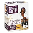 Forever Fit Two Ankle/Wrist Weights, 5 lb, 1 each
