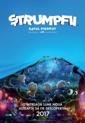 smurfs-the-lost-village-romanian-imported-movie-wall-poster-print-30cm-x-43cm-brand-new
