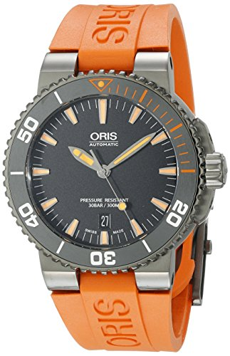 Oris-Mens-73376534259RS2-Analog-Display-Swiss-Automatic-Orange-Watch