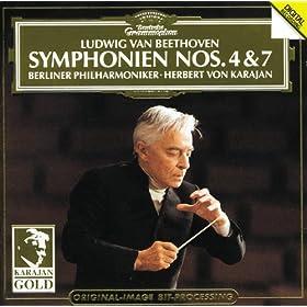 Beethoven: Symphonies Nos.4 & 7