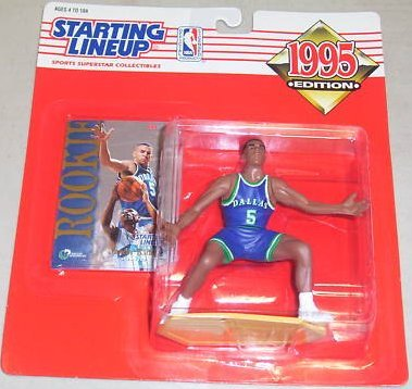 Jason Kidd Rookie Action Figure - 1995 Edition Starting Lineup NBA Basketball Series - 1