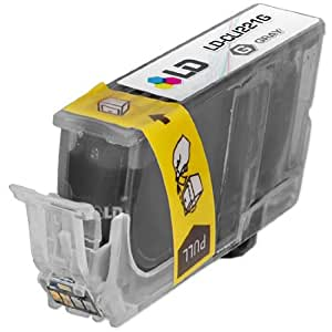 LD © Canon CLI221 Gray Compatible Inkjet Cartridge W/ Chip