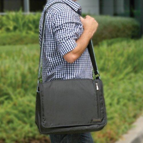 Kensington Urban Messenger Bag With Adjustable Shoulder Strap (K28109Ww-2Pk)