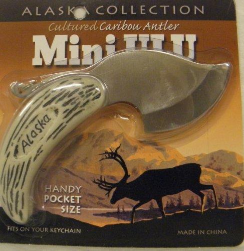 Alaska Collection Cultured Caribou Antler Mini Ulu